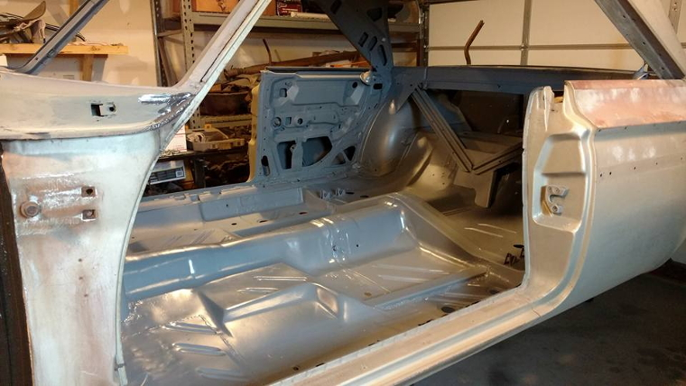 Undercoating and some Interior work