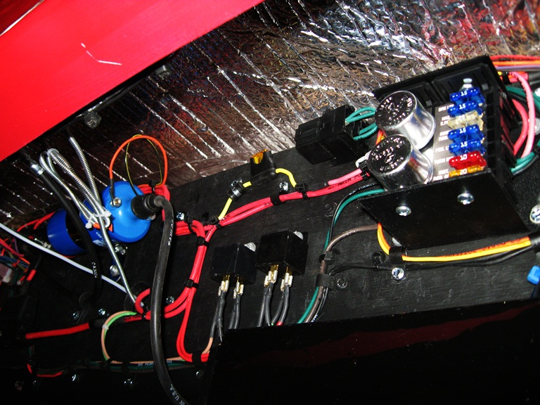 deuce electrical well i m no expert on automotive wiring but i try to get a little better each car i build this one is better than my last even though this wiring