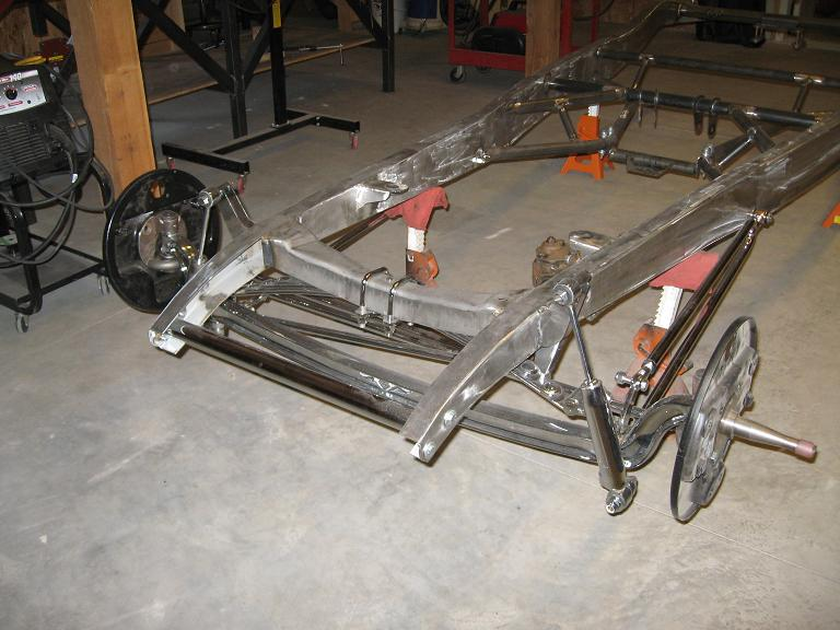 model a hot rod chassis canada